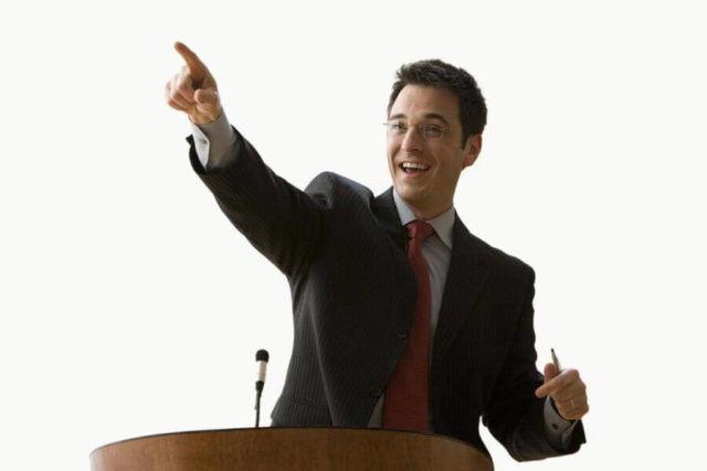 Un element cheie în public speaking